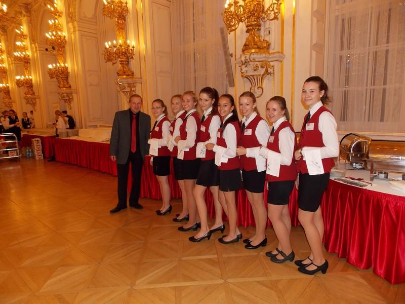 Opět jsme se vrátili do reprezentativních prostor Pražského hradu