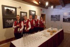 Zajištění slavnostní recepce na zahájení vernisáže litevských fotografů v Maltézském sále strakonického hradu 1.11.2016
