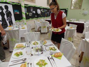 Příprava svatební hostiny