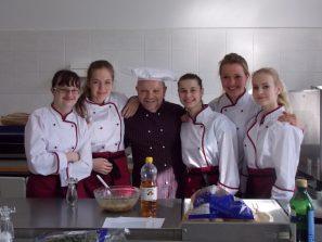 Vaření s kulinářem Petrem Stupkou