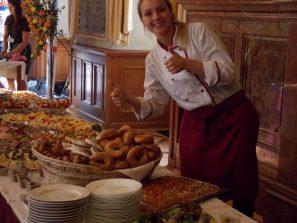 Opět jsme připravili raut ve Valdštejnském paláci Senátu ČR
