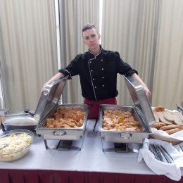 Slavnostní obědový raut v KD Metropol v Českých Budějovicích
