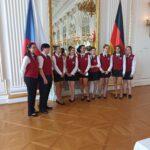 Praxe na Pražském hradě u příležitosti návštěvy německého prezidenta